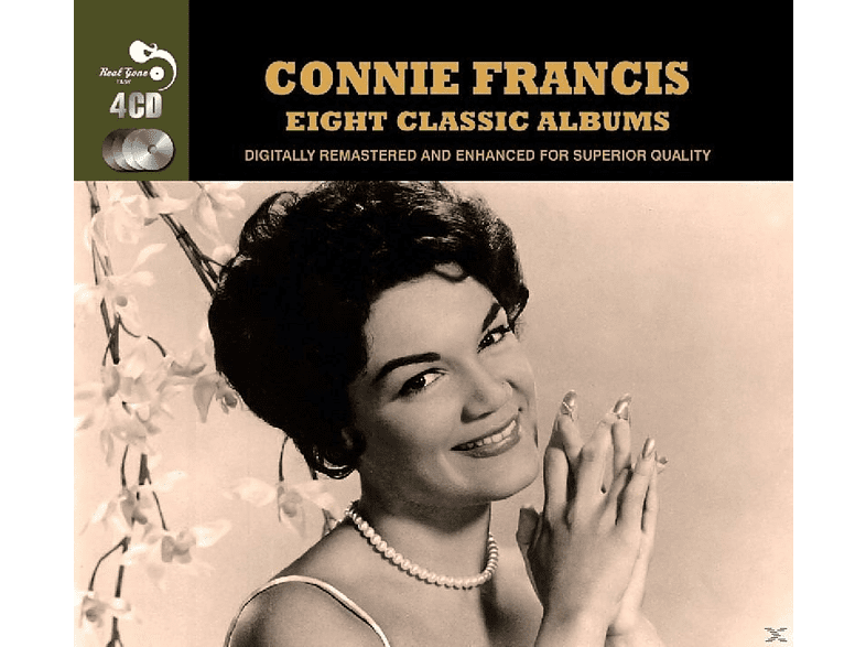 Connie Francis - Eight Classic Albums [CD]