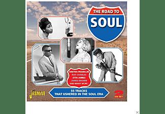 VARIOUS - ROAD TO SOUL  - (CD)