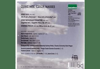 Marta Fadljevicova, Jana Tukova, Ondrej Socha, Jan Moravek, Petr Cech, Vladimir Jelinek, Charles University Choir Prague, Prague Youth Chamber Ensemble - Czech Masses  - (CD)