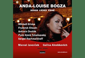 Marcel Javorcek, Anda-louise Bogza - Lieder  - (CD)