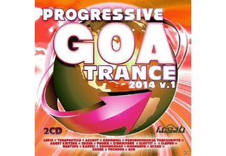 VARIOUS - Progressive Goa Trance 2014 Vol.1 - (CD)