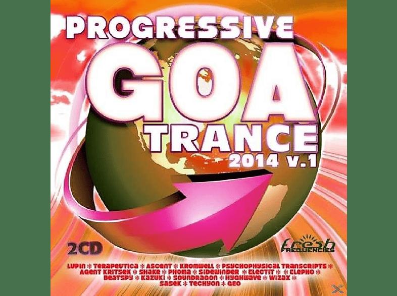 VARIOUS - Progressive Goa Trance 2014 Vol.1 [CD]