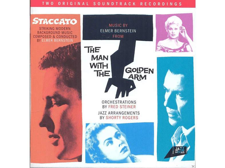 VARIOUS - Staccato / Man With The Golden Arm [CD]