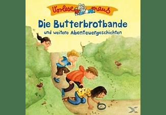 Vorlesemaus - Die Butterbrotbande U.A.(Abenteuergeschichten)  - (CD)