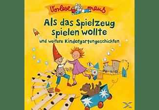 Vorlesemaus - Als Das Spielzeug spielen wollte (Kindergartengeschichten)  - (CD)
