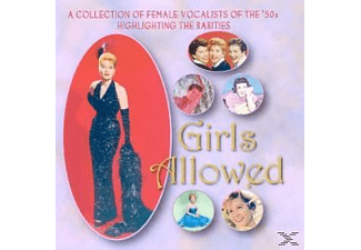 VARIOUS - Girls Allowed-Collection Of 50s Female Vocalists  - (CD)