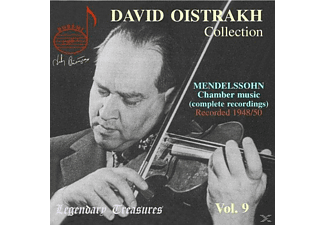 David Oistrakh, Felix Mendelssohn Bartholdy - David Oistrach Collection Vol. 9  - (CD)