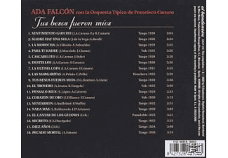 Ada Falcon - Tus Besos Fueron Mios  - (CD)