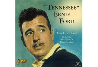 Tennessee Ernie Ford - This Lusty Land Incl.The Tales Of Davy Crockett  - (CD)