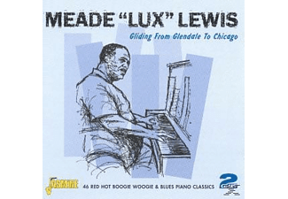Meade Lux Lewis - GLIDING FROM GLENDALE TO CHICAGO  - (CD)