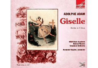 The Bolshoi Theatre Symphony Orchestra - GISELLE - (CD)