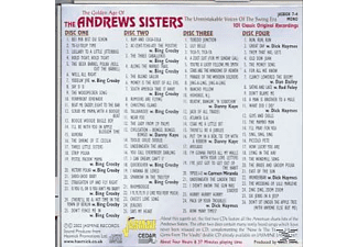 The Andrews Sisters - Golden Age Of The Andrews Sisters  - (CD)