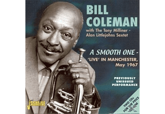 Coleman Bill - A SMOOTH ONE - LIVE IN MANCHESTER  - (CD)
