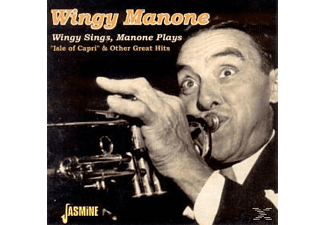 Manone Wingy - WINGY SINGS, MANONE PLAYS  - (CD)