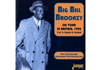 Big Bill Broonzy - ON TOUR (BRITAIN 1952)  - (CD)