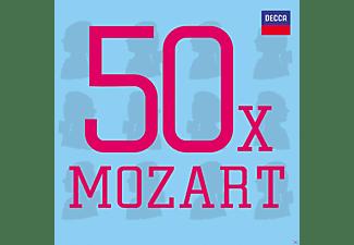 VARIOUS - 50 X Mozart  - (CD)