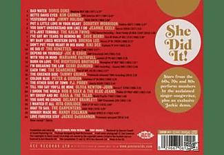 VARIOUS - She Did It! Songs Of Jackie Deshannon Vol.2  - (CD)