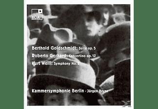 BRUNS/KAMMERSYMPHONYBERLIN, Bruns Jürgen - Orchesterwerke  - (CD)