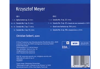 Christian Seibert - Klavierwerke  - (CD)