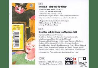 F. & COLLEGIUM JUVENUM Keck, Friedemann Keck - Brundibar  - (CD)
