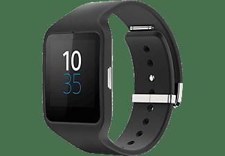 SONY SmartWatch 3 SWR50   Smartwatch Kunststoff, Schwarz