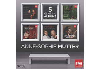 Anne-Sophie Mutter, VARIOUS - A.S.Mutter-Five-In-One  - (CD)