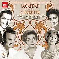 VARIOUS, Various Orchestras - Legenden Der Operette [CD]