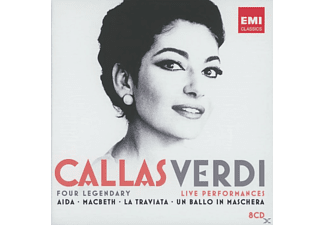 Maria Callas, VARIOUS - Verdi Live Performances - (CD)