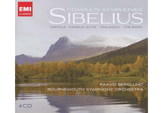 Paavo Berglund, Bournemouth Symphony Orchestra - Sämtliche Sinfonien  - (CD)