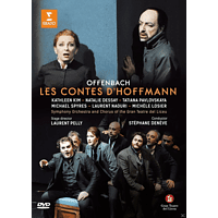 Symphony Orchestra and Chorus of the Gran Teatre del Liceu - Les Contes D'hoffmann (Hoffmanns Erzählungen) [DVD]