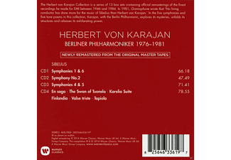 Berliner Philharmoniker, Herbert von Karajan - Sibelius 1976-1981  - (CD)