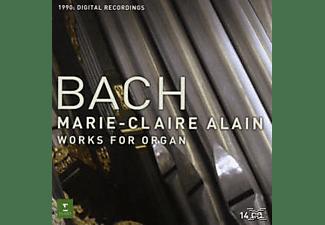 Marie Alain - Works For Organ  - (CD)