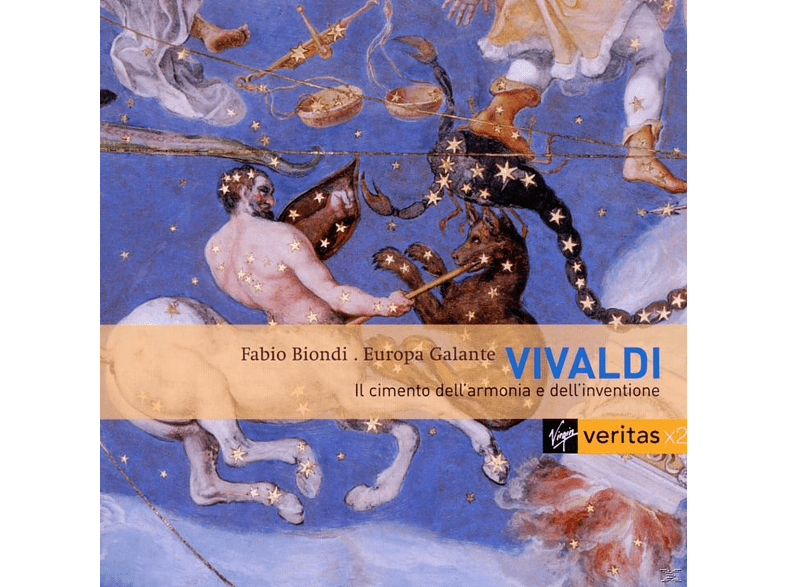 Europa Galante, Fabio Biondi - Vier Jahreszeiten/Il Cimento [CD]