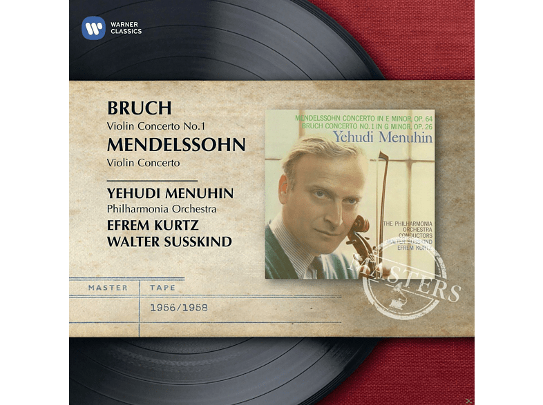 Yehudi Menuhin, The Philharmonia Orchestra - Violinkonzerte [CD]