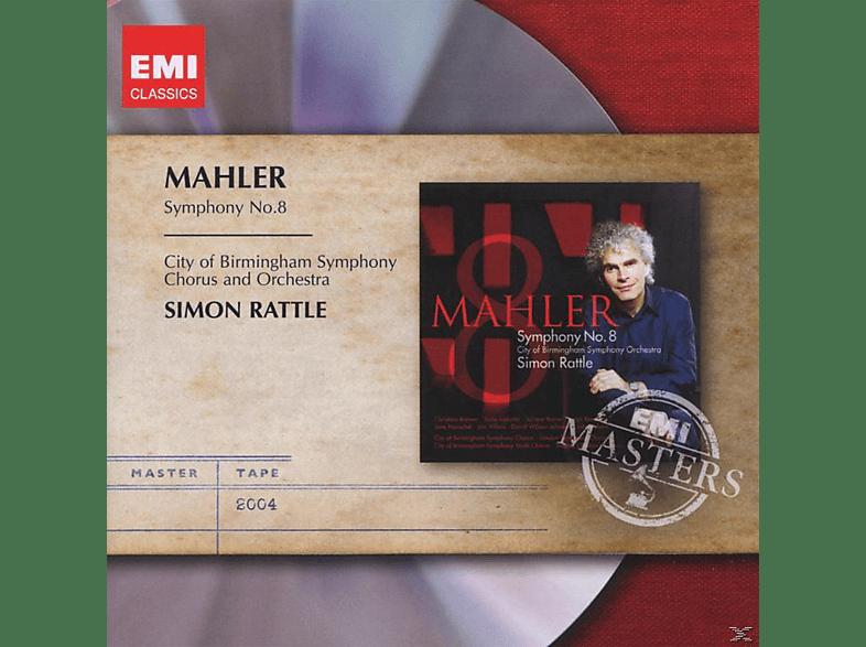 Simon Rattle, City Of Birmingham Symphony Chorus, City Of Birmingham Symphony Orchestra - Symphony No. 8 [CD]