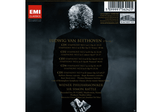 Wiener Philharmoniker - Sinfonien 1-9  - (CD)