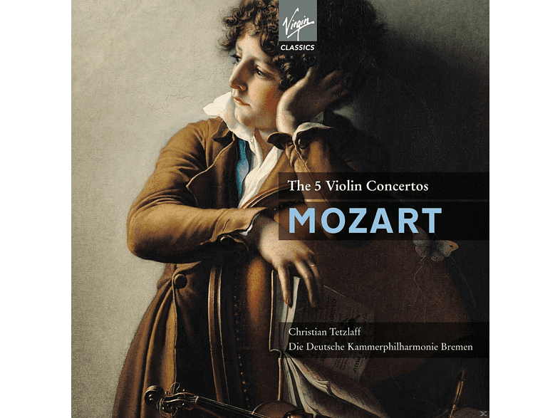 Deutsche Kammerphilharmonie, Tetzlaff Christian - Die 5 Violinkonzerte [CD]