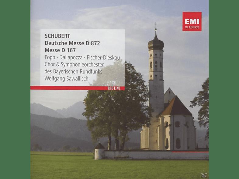 Wolfgang Sawallisch, Symphony Orchester Des Bayerischen Rundfunks - Deutsche Messe [CD]