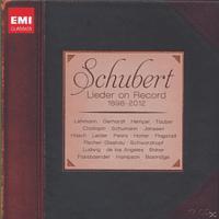 VARIOUS - Schubert Lieder On Record [CD]