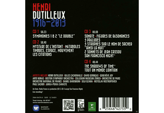 VARIOUS - Hendri Dutilleux 1916-2013  - (CD)