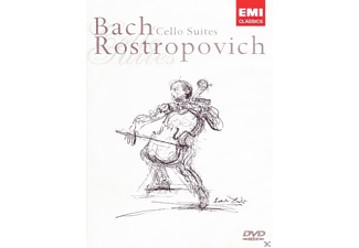 Mstislav Rostropovich - Bach Cello Suites  - (DVD)