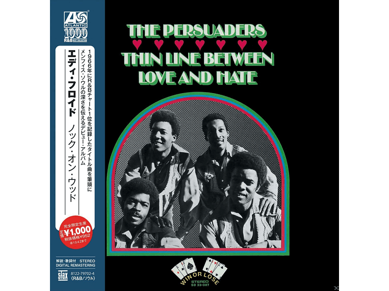 The Persuaders - Thin Line Between Love And Hate [CD]
