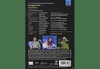 Diana Damrau, Juan Diego Florez, Zeljko Lucic, Sächsische Staatskapelle Dresden - Rigoletto  - (DVD)