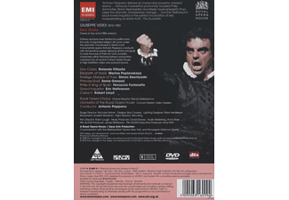 Rolando Villazon, Marina Poplawskaja, Simon Keenlyside, Sonia Ganassi, Antonio Pappano, Royal Opera Chorus, Orchestra Of The Royal Opera House - Don Carlo  - (DVD)