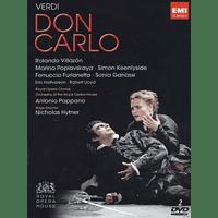 Rolando Villazon, Marina Poplawskaja, Simon Keenlyside, Sonia Ganassi, Antonio Pappano, Royal Opera Chorus, Orchestra Of The Royal Opera House - Don Carlo - [DVD]