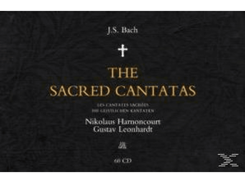 Nikolaus Harnoncourt - Complete Sacred Cantatas [CD]
