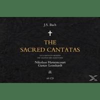 Nikolaus Harnoncourt - Complete Sacred Cantatas [CD]