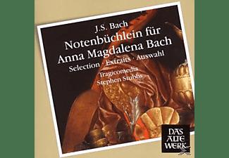 Tragicomedia - Notenbüchlein Für Anna Magdalena Bach  - (CD)