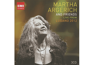 Martha Argerich, VARIOUS - Live From Lugano 2012 - (CD)
