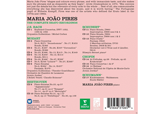 Maria Joao Pires, Various Orchestras - Maria João Pires - The Complete Erato Recording  - (CD)